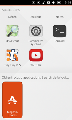ubuntu application